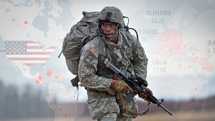 MAPA: Los lugares del mundo con mayor presencia de personal activo militar de EE.UU.