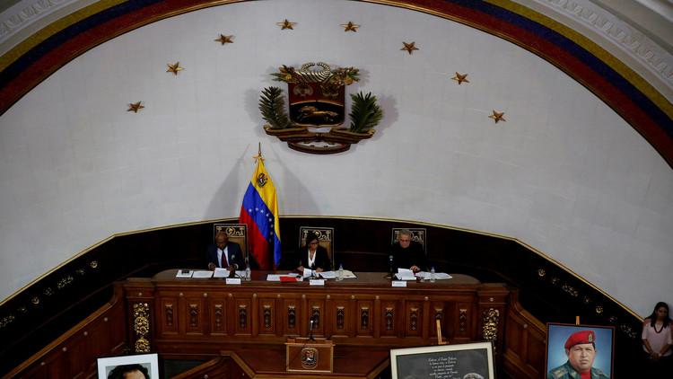 """Constituyente venezolana solicita juicios por """"traición a la patria"""" contra políticos opositores"""