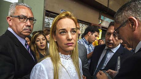 Lilian Tintori pretendía a acompañar a Guillermo Lasso en su campaña electoral.