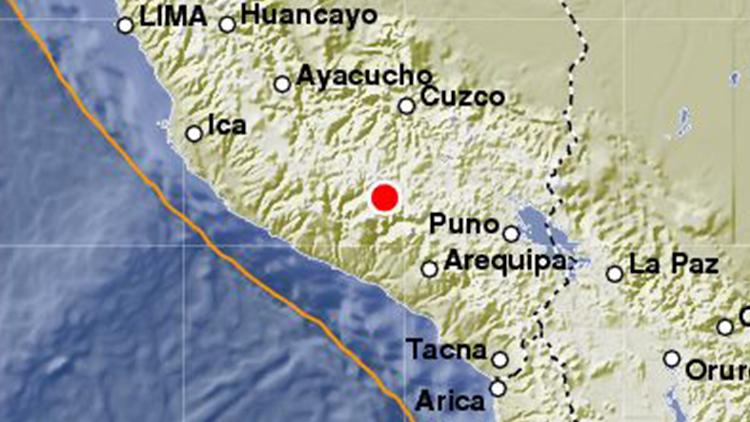 Un sismo de magnitud 4,7 sacude el sur de Perú