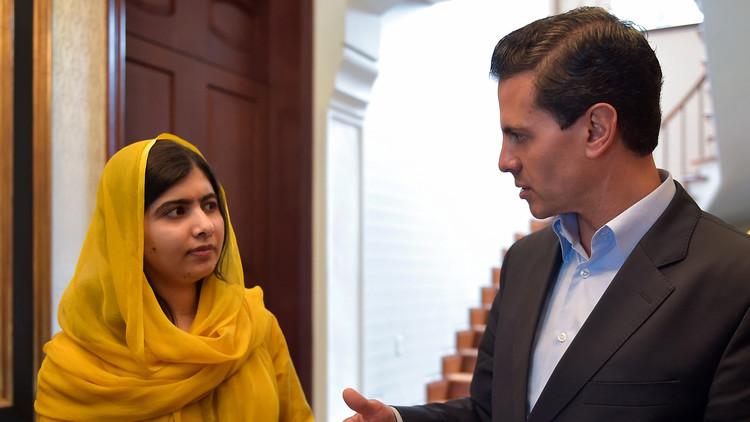 """Tormenta en la Red: """"Peña Nieto escucha a Malala Yousafzai pero no a los mexicanos"""""""