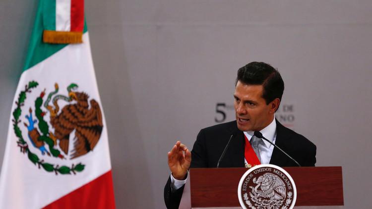"""""""México está creciendo como nunca"""": Peña Nieto presenta el informe de su quinto año de Gobierno"""
