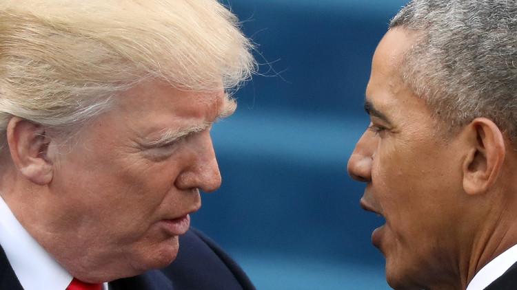 Justicia de EE.UU. no encuentra pruebas de que Obama interceptase las comunicaciones de Trump