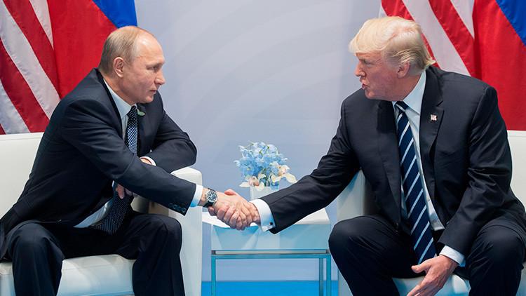 """Putin: """"¿Si me ha decepcionado Trump? No somos novios"""""""