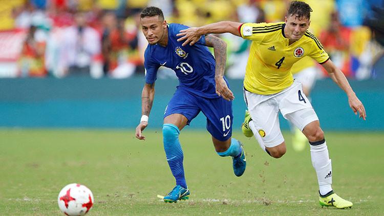 Brasil y Colombia empatan en partido de clasificación para el Mundial de 2018