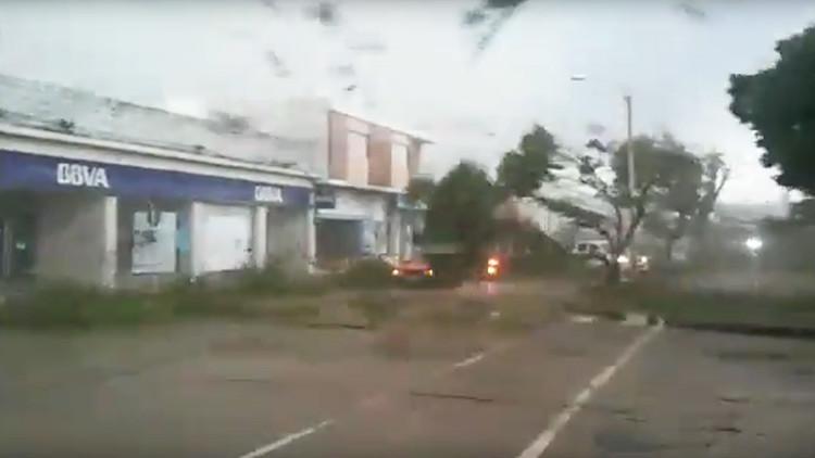 OJO: Este video del huracán Irma en Barbuda es falso