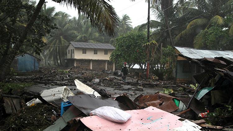 """Varios muertos y daños """"catastróficos"""" en las Islas Vírgenes por el huracán Irma"""