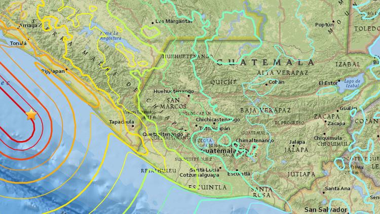 El terremoto de México alcanzó una magnitud de 7,7 en Guatemala