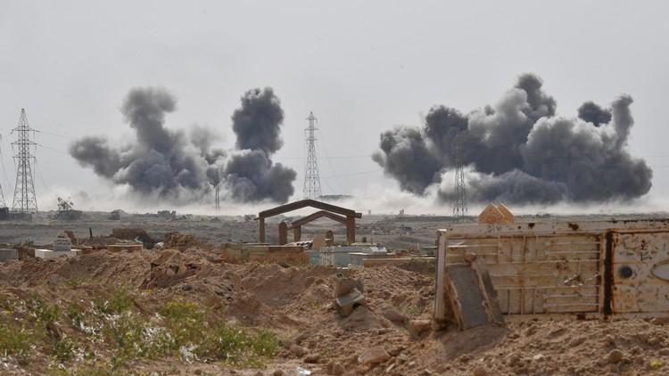 La aviación rusa destruye 180 objetivos del Estado Islámico en Siria