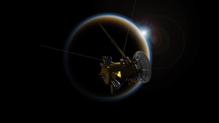 """""""Gran final"""": 'Se despide' la sonda Cassini, que reveló enigmas de Saturno"""