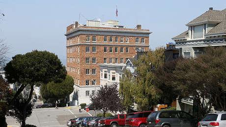 La sede del Consulado General de Rusia en San Francisco