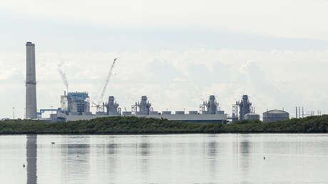 La central nuclear de Turkey Point en Florida, EE.UU.