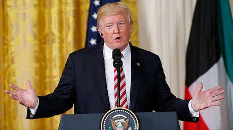 El presidente de Estados Unidos, Donald Trump, en Washington, el 7 de septiembre de 2017.