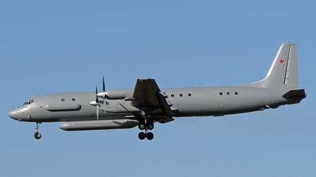 Avión IL-20M ruso.