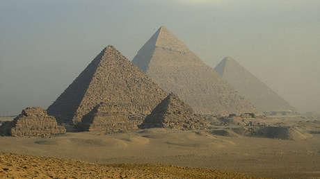 El complejo de las pirámides de Guiza en Egipto.