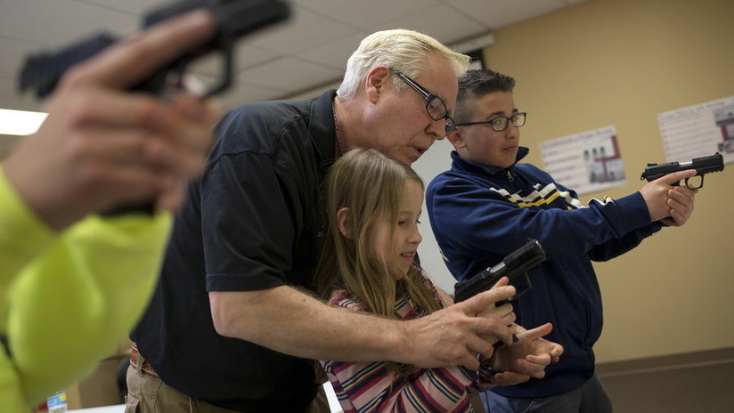 2018, año récord en agresiones escolares con armas de fuego en EE.UU.