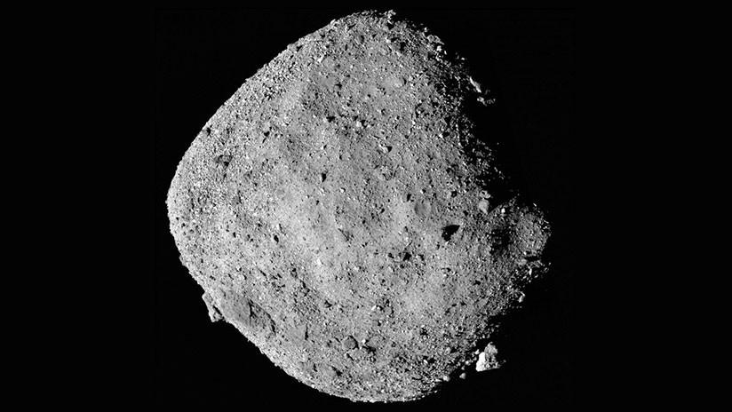 Una sonda de la NASA halla agua en un asteroide