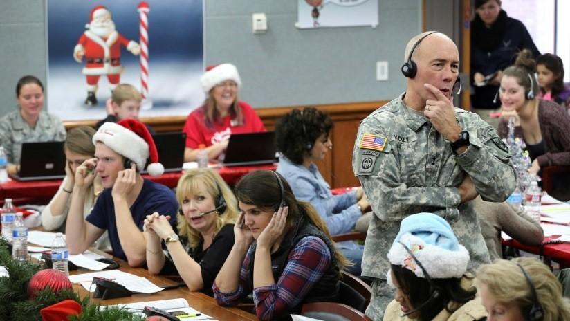 ¿Por qué los militares de EE.UU. siguen los 'desplazamientos' de Papá Noel?