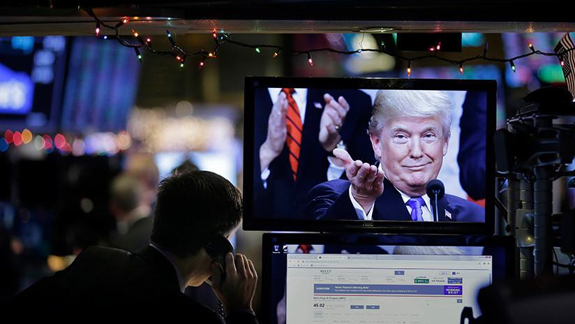 Los tuits de Trump hunden el mercado de valores