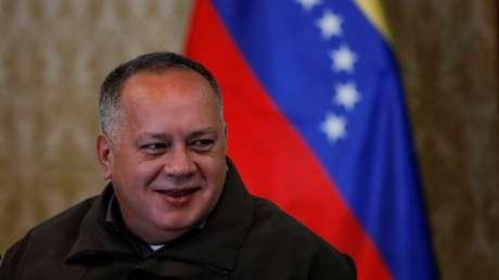 El presidente de la Asamblea Constituyente en Venezuela, Diosdado Cabello.