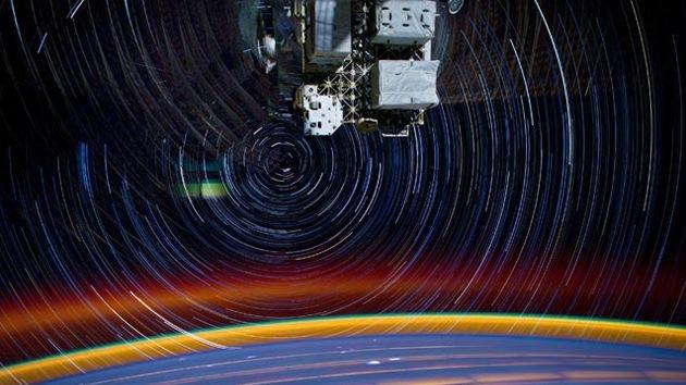 Impresionantes fotografías muestran la verdadera 'odisea en el espacio'