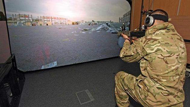 Militares británicos prueban armamento de nueva generación en un videojuego