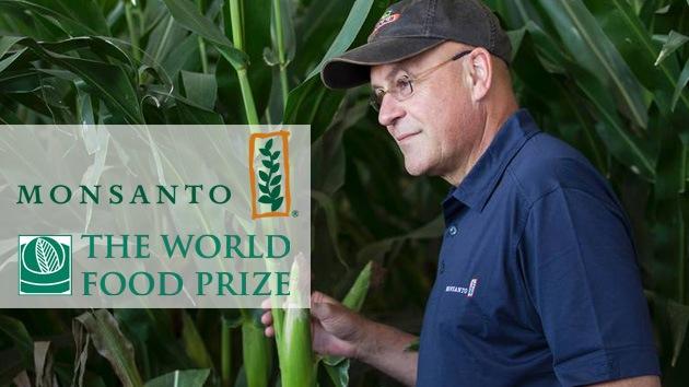 Un ejecutivo de Monsanto es galardonado con el Premio Mundial de la Alimentación