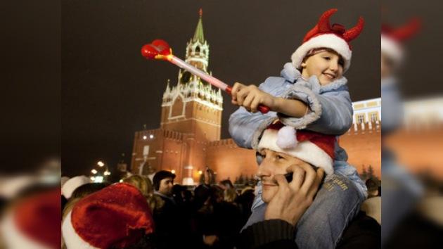 Los rusos van a celebrar durante 10 días el Año Nuevo y la Navidad