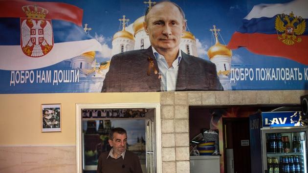 Putin desaprueba el uso comercial de su imagen