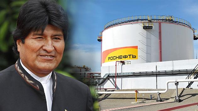 Evo Morales: Bolivia espera poder colaborar con la petrolera rusa Rosneft
