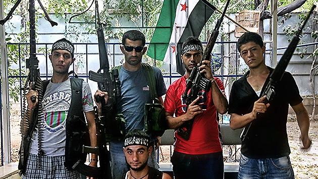 Arabia Saudita envía armas a los rebeldes sirios