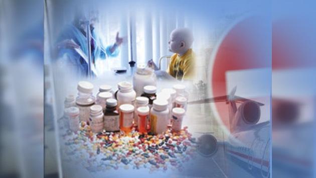 La aduana rusa permite la importación de medicamentos para niños con VIH