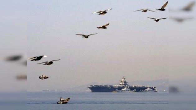 EE. UU. envía un segundo portaaviones al golfo Pérsico