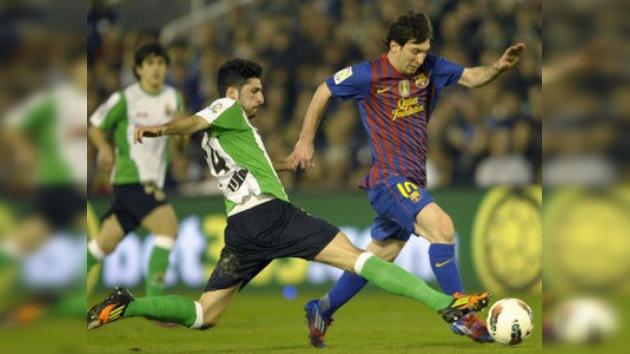 Messi sigue imparable y le da la victoria al Barcelona frente al Racing
