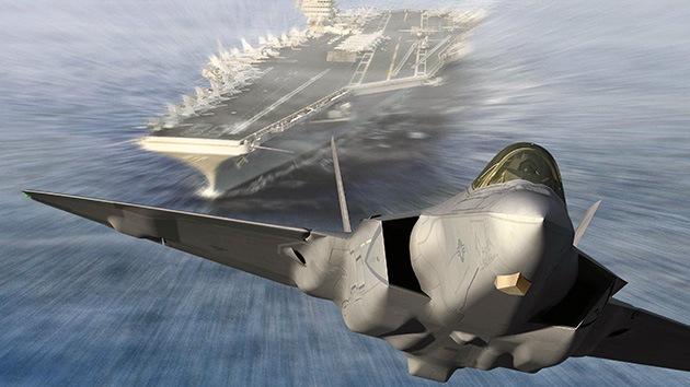 Los vuelos del nuevo caza F-35B de EE.UU., 'en el aire' por un fallo en la propulsión