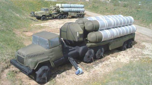 El Ejército ruso encarga modelos inflables de sistemas de misiles S-300