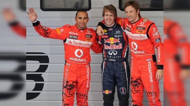 Vettel dominó en jornada de entrenamientos libres en China