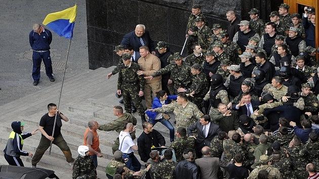"""""""Agentes de la CIA y el FBI ayudan a las autoridades de Kiev"""""""