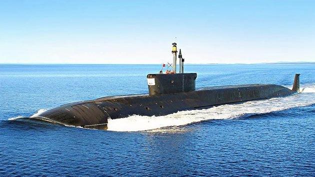 El nuevo submarino nuclear ruso Yuri Dolgoruki saldrá a superficie en 2013