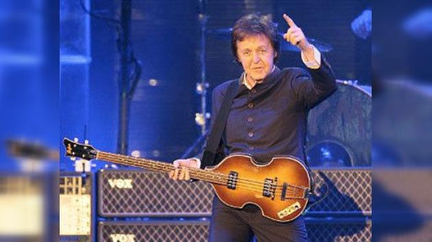 Paul McCartney se presentará en Moscú en diciembre