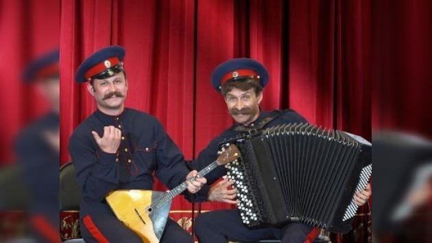 Canciones rusas inauguraron descuentos de invierno en galerías de París