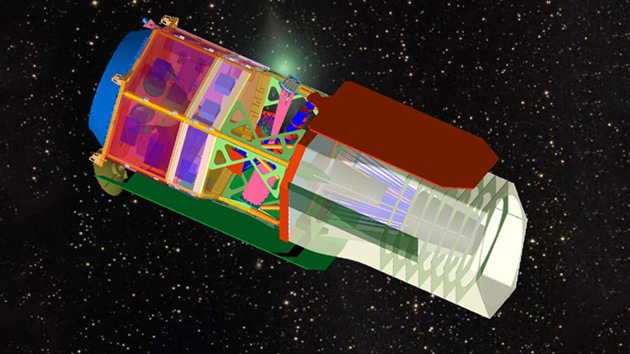 Los nuevos telescopios-espía de la NASA se quedan en tierra