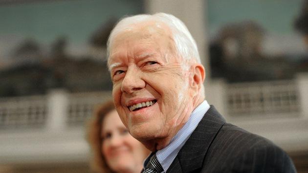 """Jimmy Carter: """"El sistema electoral venezolano es el mejor del mundo"""""""