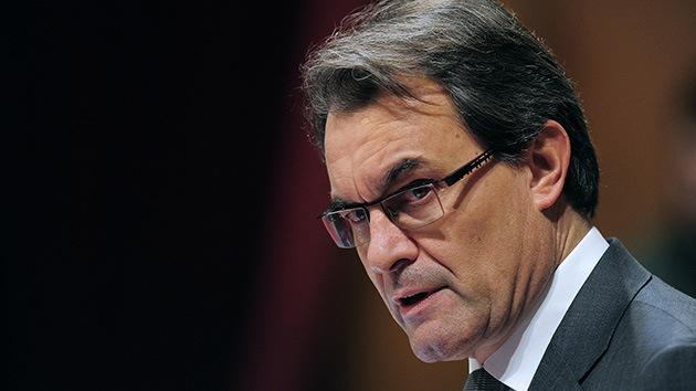 Artur Mas, investido presidente de la Generalitat de Cataluña