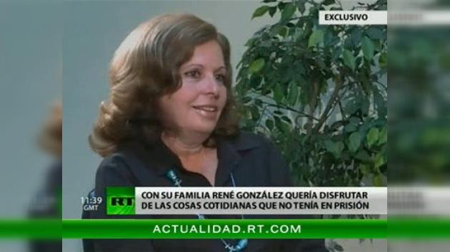 """Esposa de uno de 'los cinco' a RT: """"La solución está en manos del presidente Obama"""""""