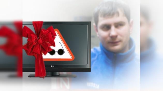 ¿Puede un plasma ser premio para una persona con discapacidad visual?