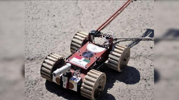 Un robot recorre un túnel prehispánico en búsqueda de vestigios