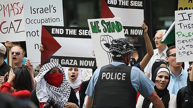 """""""La Policía lo ignora"""": Denuncian ataques de odio de israelíes contra palestinos"""