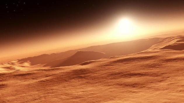 Nasa: Marte tenía una atmósfera habitable, pero la perdió en una catástrofe