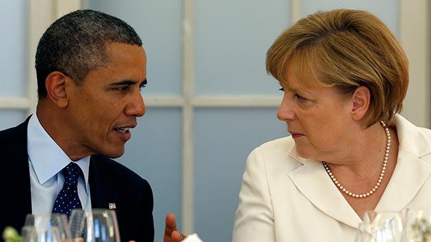"""Merkel a Obama: el espionaje de EE.UU. es """"como la Stasi"""""""